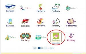 Leta upp en passande symbol och klicka på den för att gå vidare.