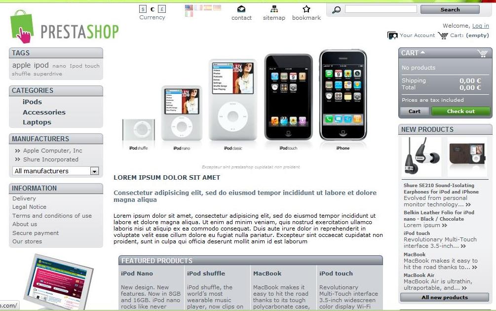 dd0ffb7290 Starta webshop – Steg för steg – Installera webbshop (PrestaShop ...